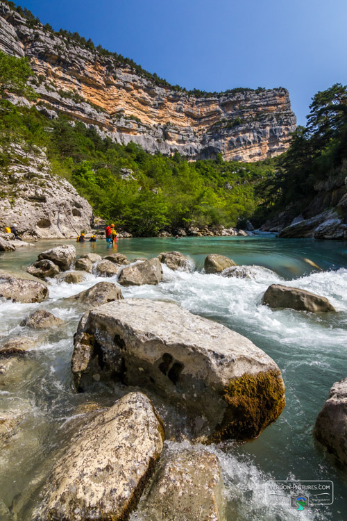 photo floating verdon