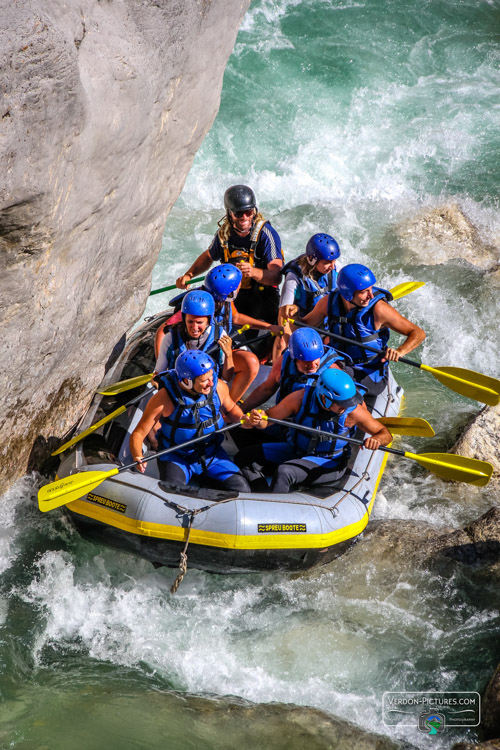 photo raft rafting verdon