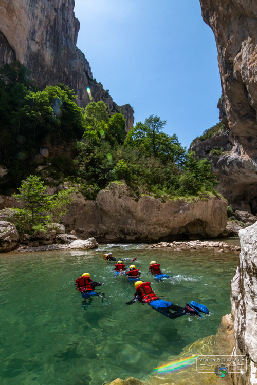 photo aqua rando trekking verdon